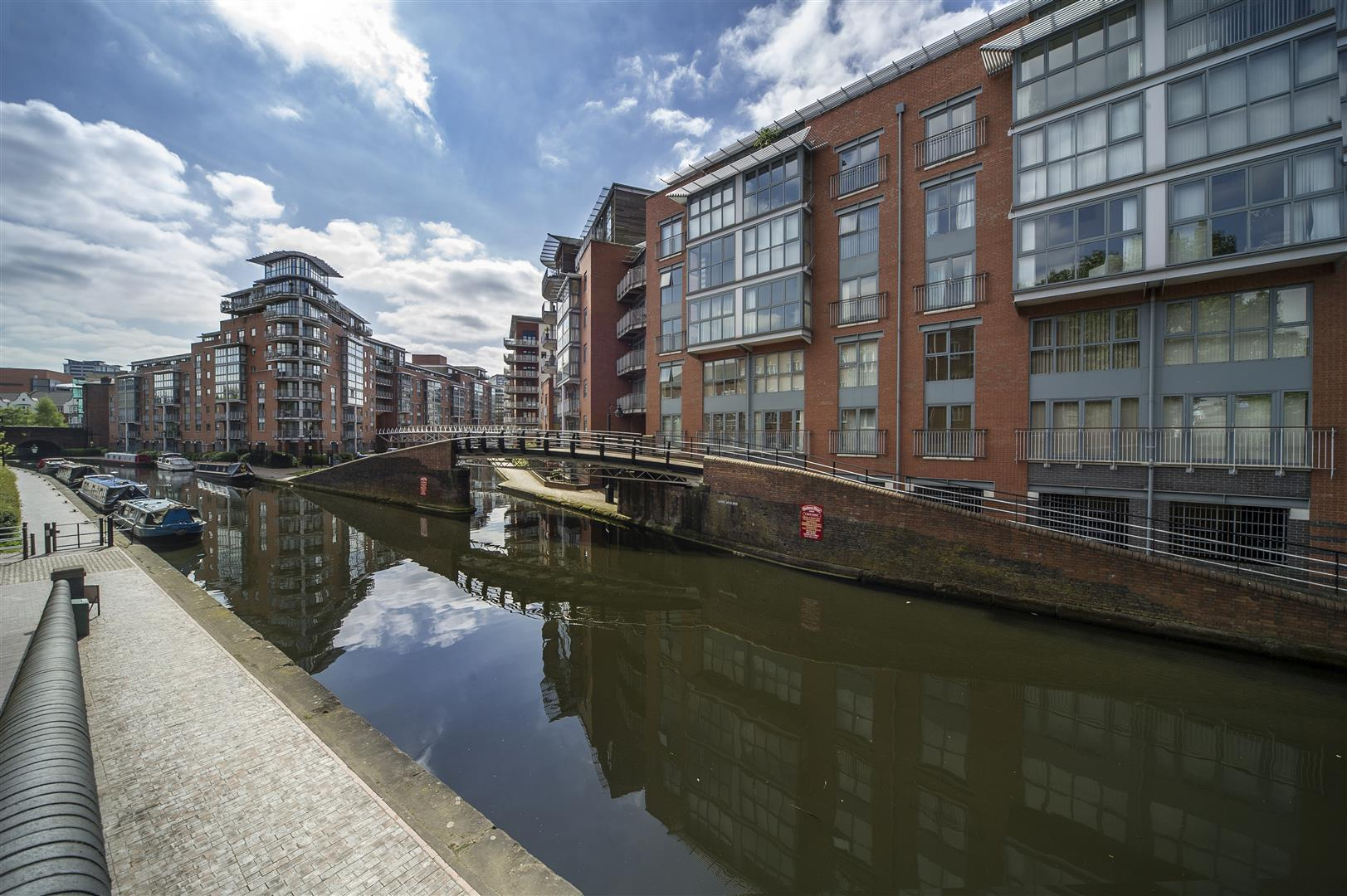 2 Bedrooms Apartment Flat for sale in King Edwards Wharf, Sheepcote Street, Birmingham